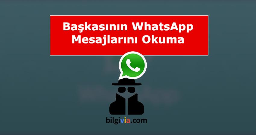 whatsapp mesajları okuma